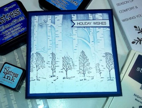 Christmas Card - Walking in a Winter Forest