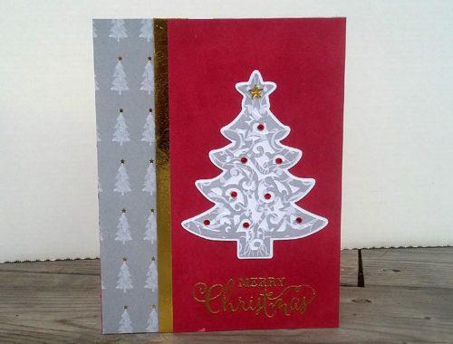 Scrollwork Christmas Tree