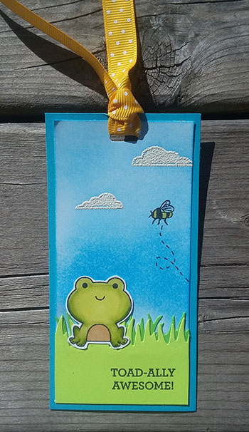 Toadally Awesome Bookmark