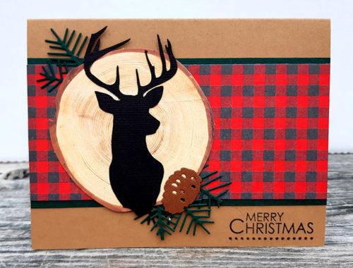 Country Christmas Deer