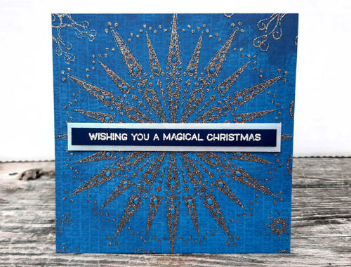 A Magical Christmas Snowflake