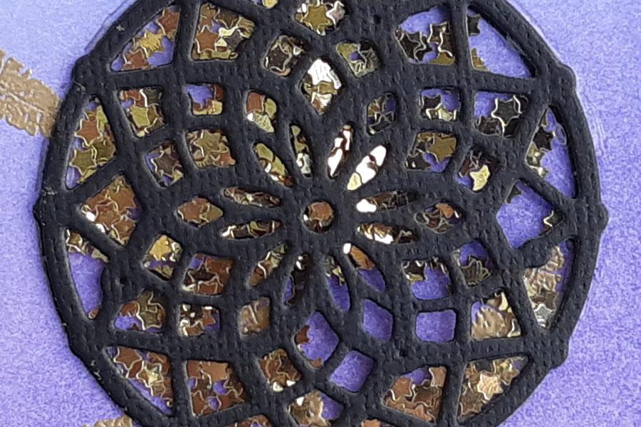 Dreamcatcher bookmark close-up