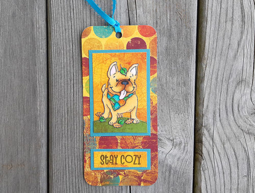 Stay Cozy Bookmark