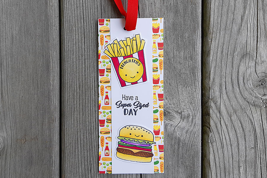 Happy Meal Bookmark