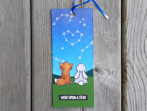 Wish upon a star bookmark