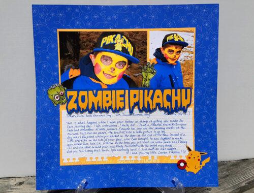 Zombie Pikachu