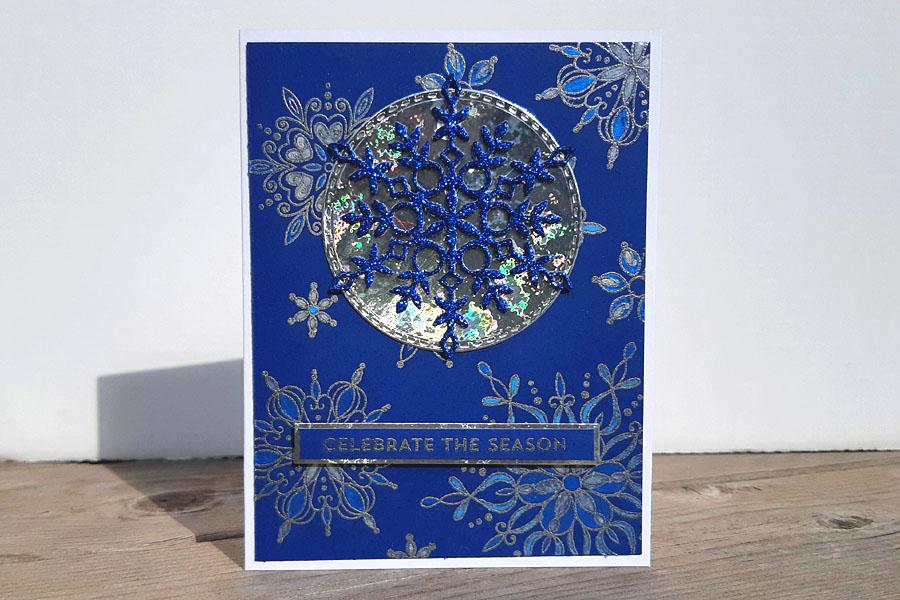 Snowflake watercolor