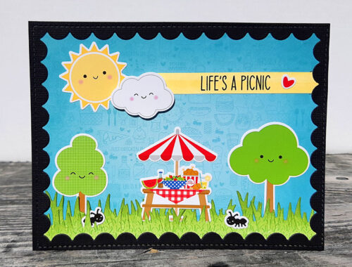 Life's a Picnic - Doodlebug Bar-B-Cute Card