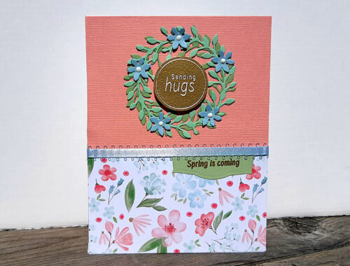 Sending Hugs Wreath