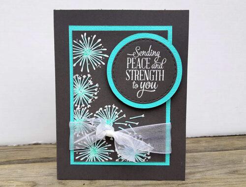 Dandelion Seeds - Sympathy Card