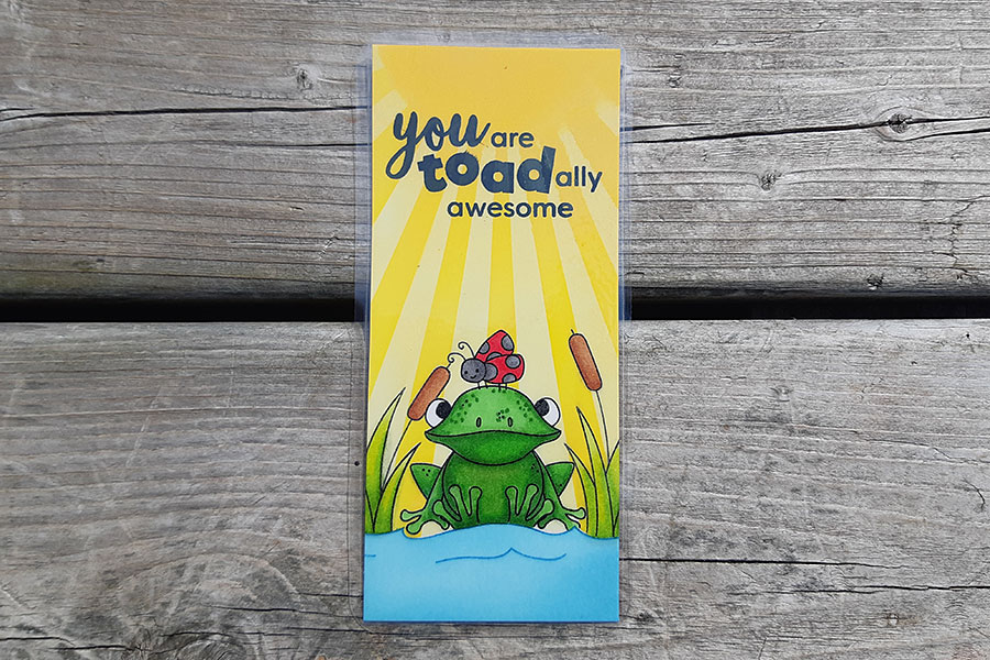 You are Toad-ally Awesome - Bookmark