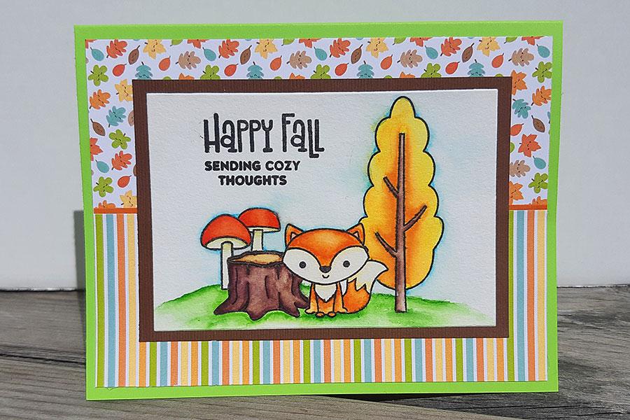 Happy Fall Cornicopia