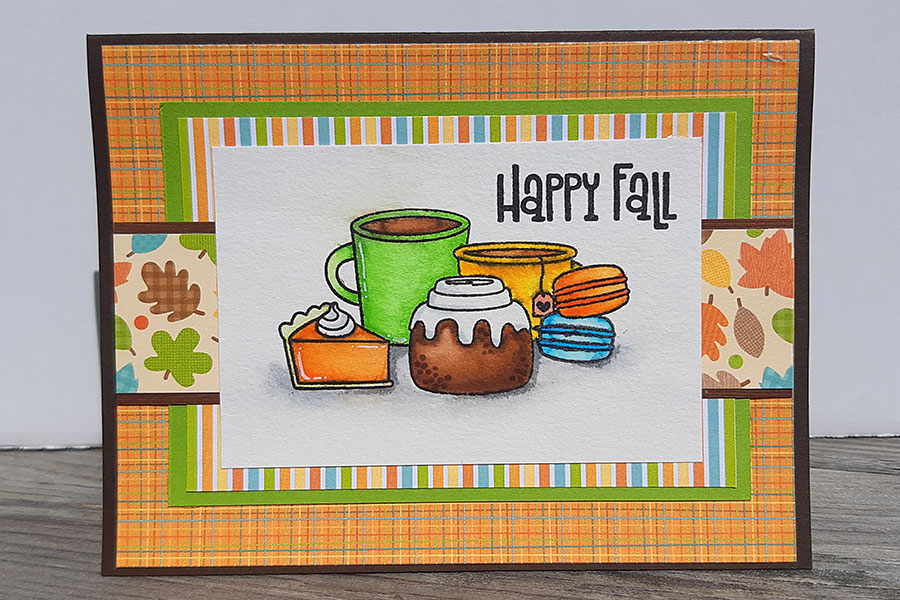 Fall cornicopia cards