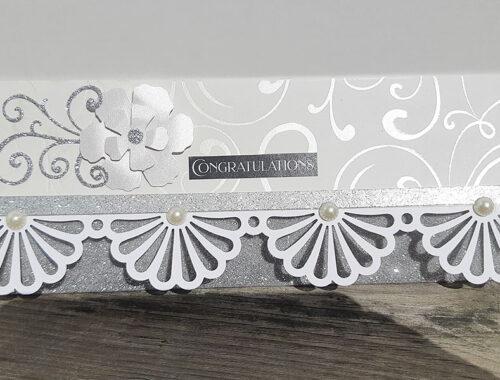 A beautiful wedding card